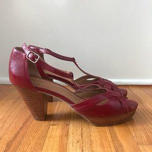 Jeffrey Campbell Camelot Peep Toe Platform Sandal